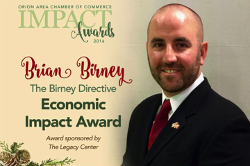 Economic Impact Award Winner