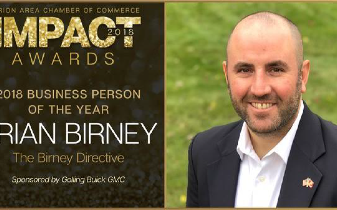 Business Person of the Year Winner
